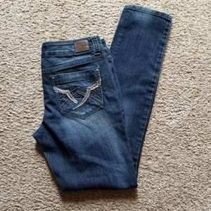 Lei Ashley Low Rise Skinny Jeans